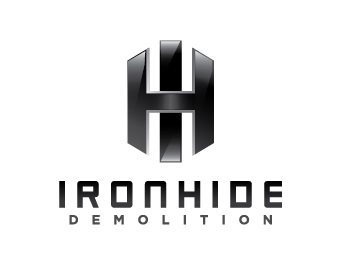 logo design for Ironhide Demolition