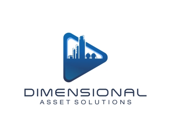 Dimensional Asset Solutions logo design
