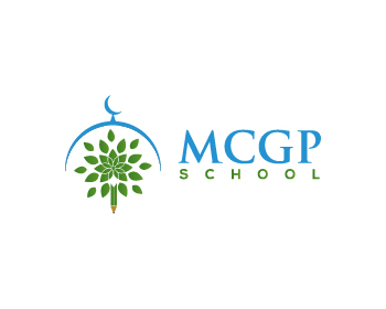 MCGP School logo design