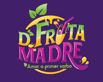 Logo design for D' Fruta Madre