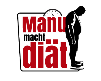Logo design for manu macht diät