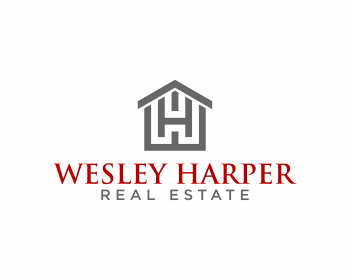 Wesley Harper Real Estate logo design
