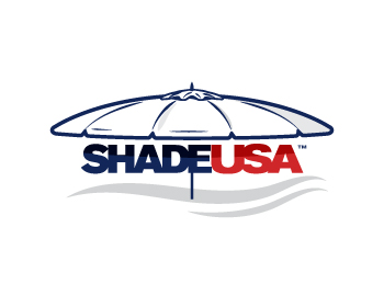 Shade USA logo design