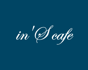 in' S CAFE logo design