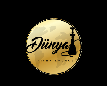 Logo design for Dünya Shisha Lounge