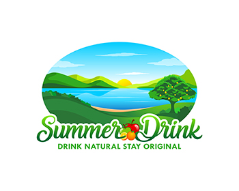 Logo design for summer drink srl