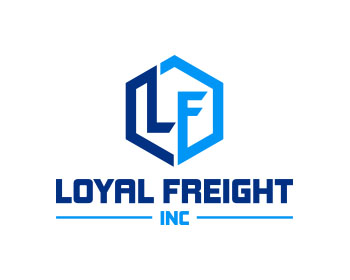 Logo design for Loyal Freight Inc