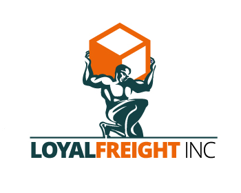 Loyal Freight Inc logo design
