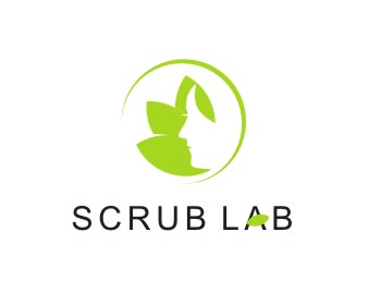 SCRUB LAB logo design