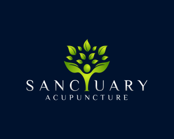 Logo per Sanctuary Acupuncture
