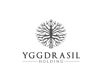 Logo design for YGGDRASIL HOLDING