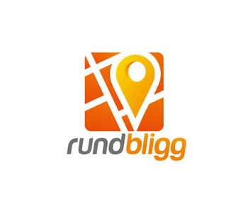 Logo design for rundbligg