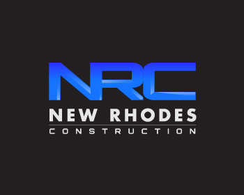 New Rhodes Construction logo design