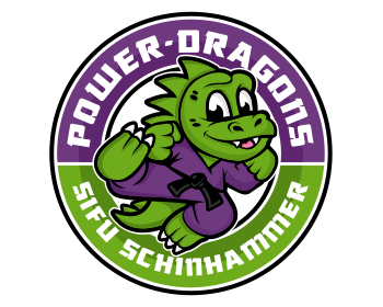 Power-Dragons Sifu Schinhammer logo design