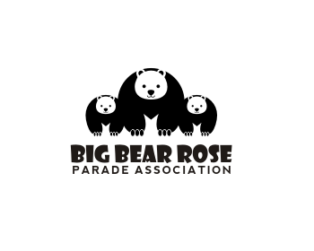 Big Bear Rose Parade Association logo design