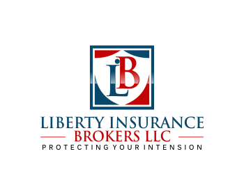 LIBERTY INSURANCE BROKERS llc logo design