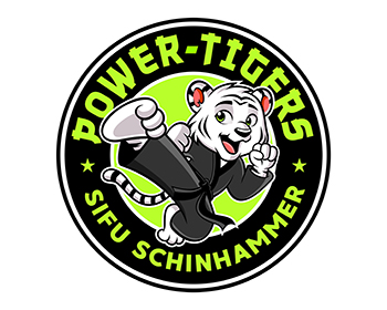 Power Tigers Sifu Schinhammer logo design