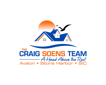 The Craig Soens Team (CST) logo design