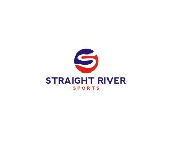 Straight River Sports logo design