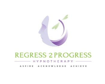 Regress 2 Progress logo design