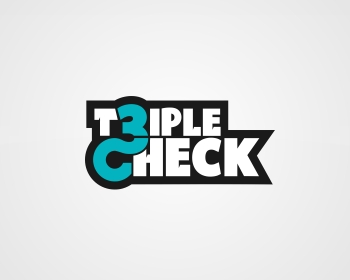 Triple Check logo design