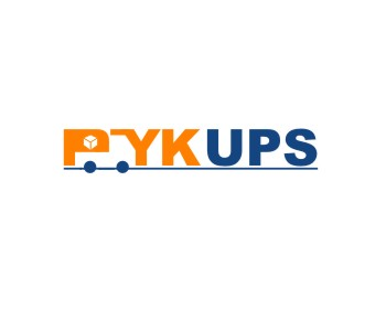 PykUps logo design