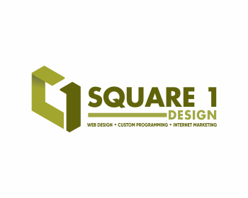 Square 1 Design logo design