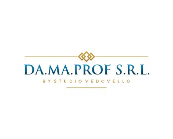 Accounting logo design for DA.MA.PROF S.R.L.  by Studio Vedovello