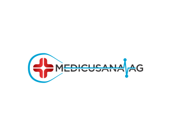 Medicusana AG logo design