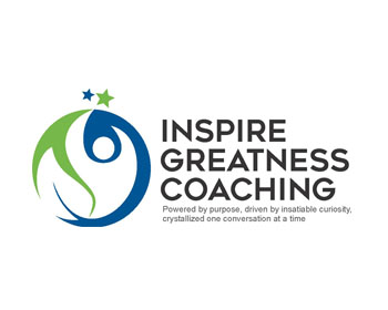 Inspire Greatness Coaching logo design
