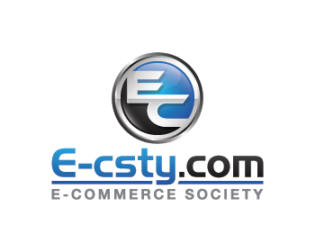 E-commerce Society,  E-csty.com logo design