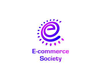 Media logo design for E-commerce Society,  E-csty.com