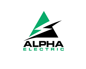 Logo design for Alpha Electric