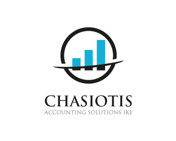 CHASIOTIS ACCOUNTING SOLUTIONS IKE logo design