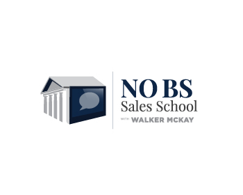 No BS Sales School with  Walker McKay logo design