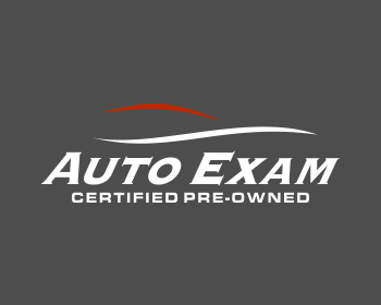 Auto Exam Certified Pre-Owned logo design