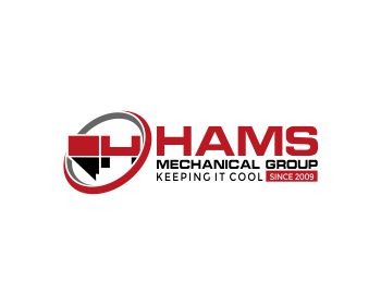 Hams Mechanical Group logo design