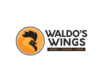 Waldo's Wings logo design