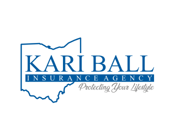Logo design for KARI BALL INSURANCE AGENCY