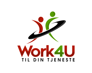 Work4U logo design
