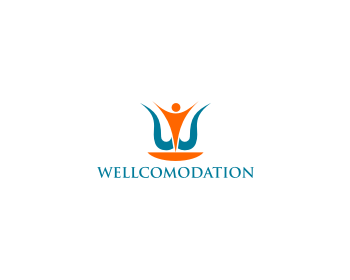 WELLCOMODATION logo design