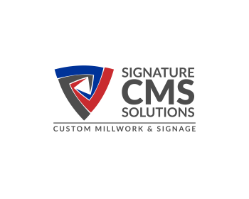 Signature CMS Solutions logo design