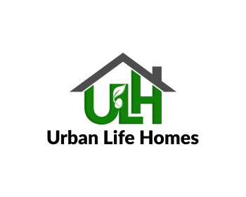 Urban Life Homes logo design