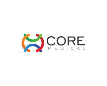 Core Medical logo design