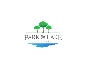 Logo design for Park and Lake Villas
