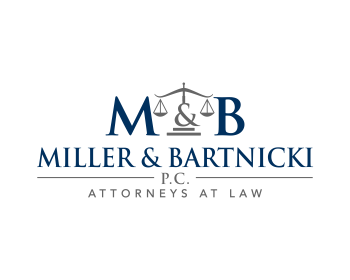 Logo design for Miller & Bartnicki, P.C.