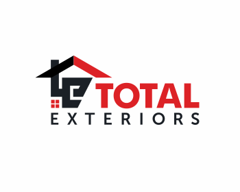 Total Exteriors logo design