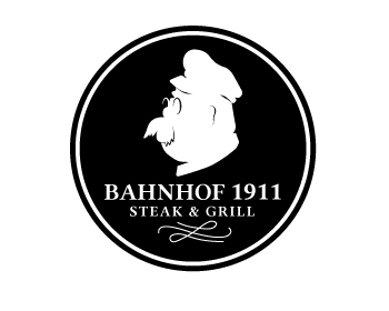 Logo design for Bahnhof 1911