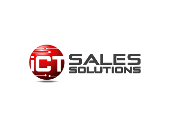 ICT Sales Solutions logo design
