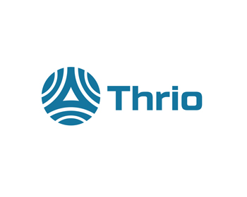 Thrio, Inc. logo design